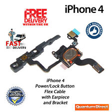 NEW Replacement Power/Lock Button/Switch with Speaker and Bracket FOR iPhone 4