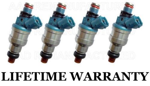 *LIFETIME WARRANTY* OEM Nikki 4X Fuel Injectors for MAZDA 626 MX6 PROBE 2.2L