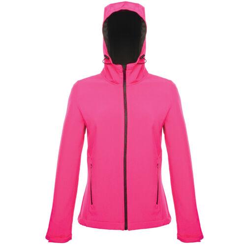 Regatta Arley II Ladies Shaped Printable Softshell Jacket Water Repellent