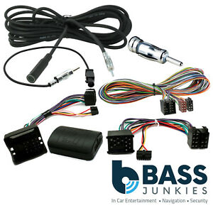 6m Extension Cable Navigation GPS Bypass DSP Amp Kit For Range Rover L322 Vogue