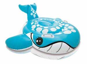 INTEX-AUFBLASBARER-Reittier-Blauer-Wal-160-x-152-cm-Schwimmen-Wasser