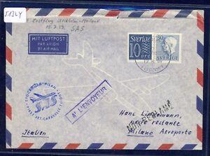 51324-SAS-FF-Stockholm-Mailand-Italien-12-8-59-cover-oben-Knick-Einriss