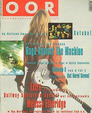 MAGAZINE OOR 1993 nr. 12 - TOOL/MELISSA  ETHERIDGE/RAGE AGAINST THE MACHINE