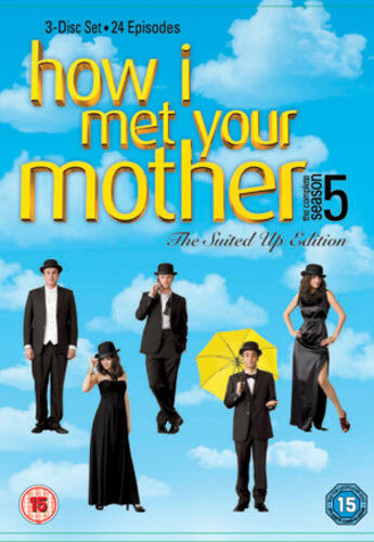 1 of 1 - How I Met Your Mother: The Complete Fifth Season DVD (2010) Josh Radnor