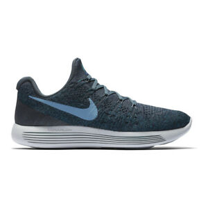 save off 7310a b168a Nike Lunarepic Bas Flyknit 2 Chaussures de Course Hommes 11 Bleu ...