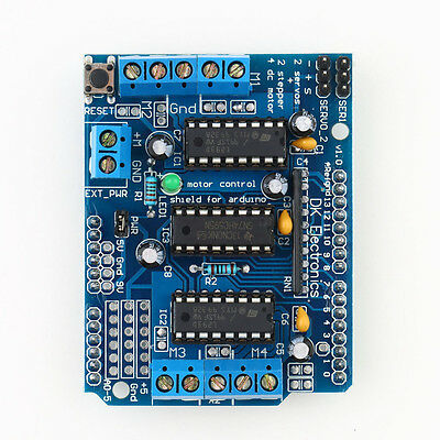 Motor Drive Expansion Shield Board Module L293D For Arduino Duemilanove Mega UNO