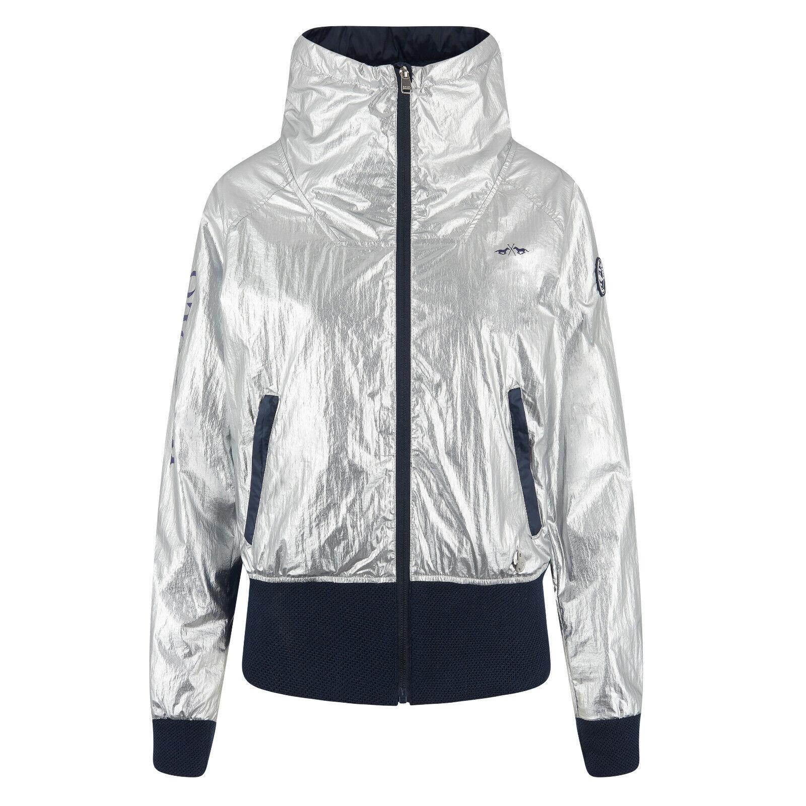 HV Polo Damen-Jacke Silver RV höherer Kragen Logodetails Sommer 2019