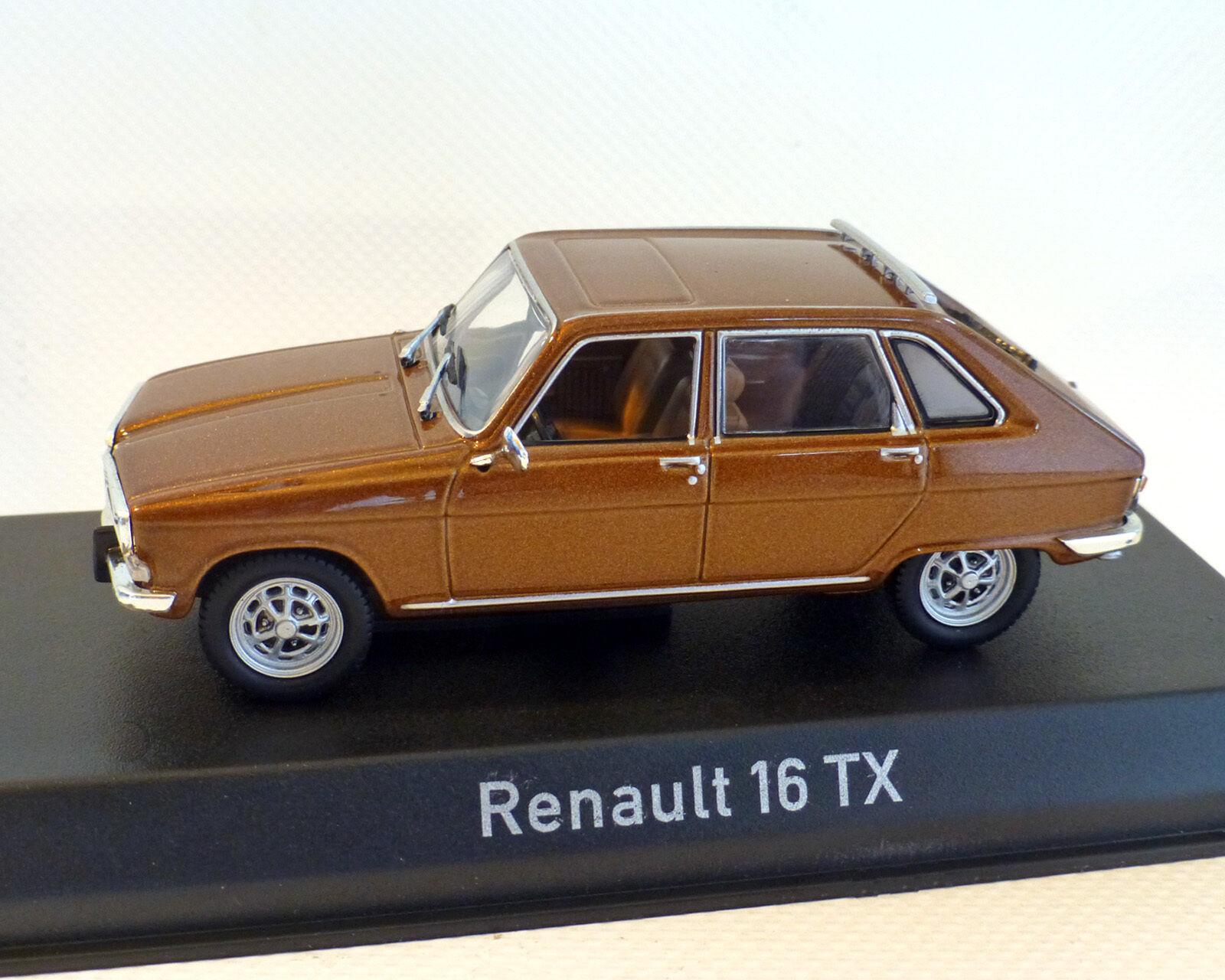 Renault 16 Tx Brown, 1976, Norev, 1 43
