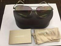 Oliver Peoples Benedict Ov1002s 5036s5-59, Silver Chrome Violet Sunglasses