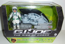 G.I.JOE 2009 RISE OF COBRA ROCKSLIDE ATAV WITH SNOW JOB NEU & OVP GI JOE
