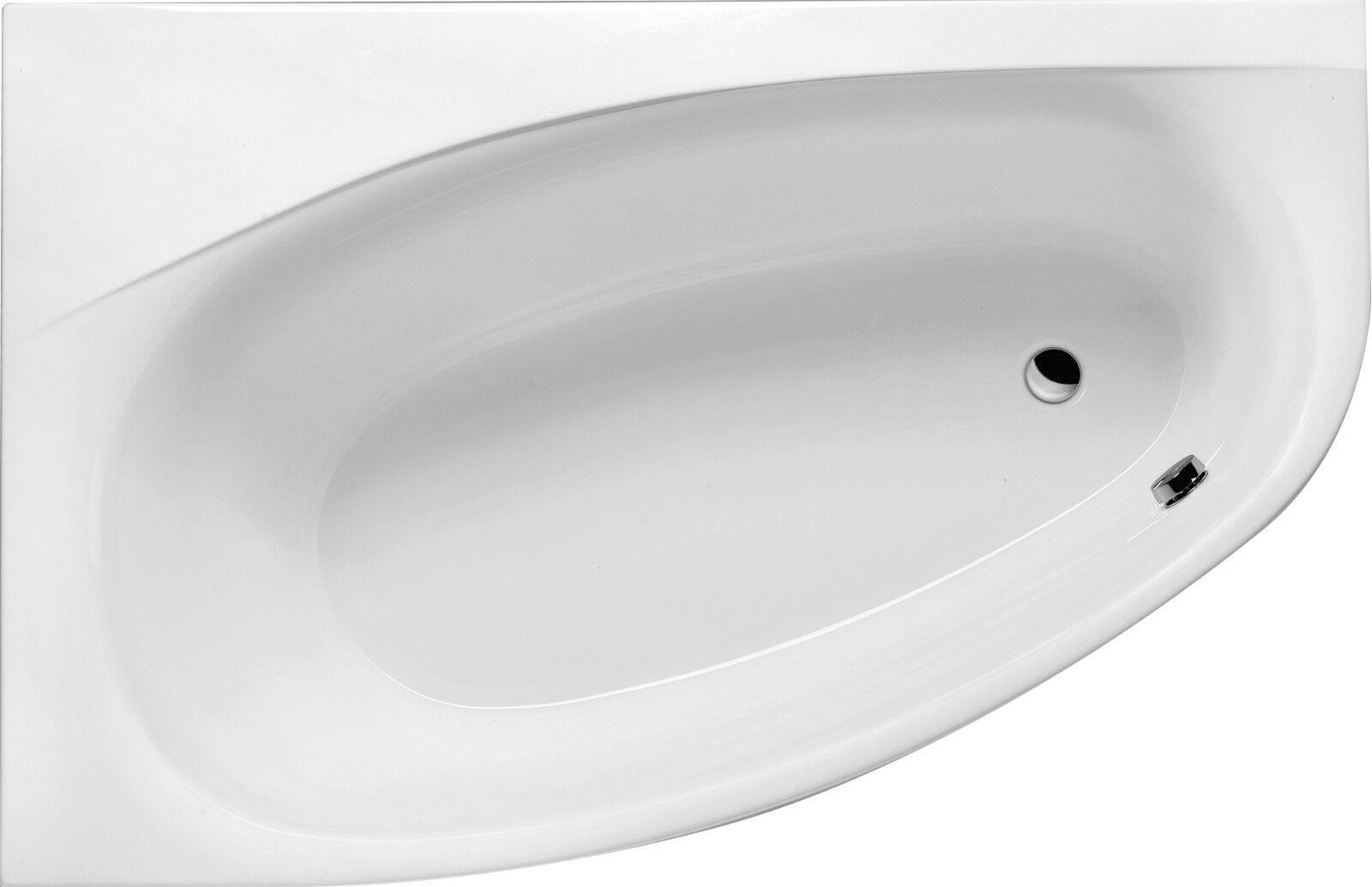 Raumspar-Badewanne Kameleon 170 x 110 x 46 cm rechte oder linke Variante