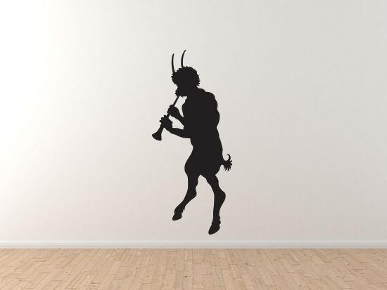 Greek Olympians - Pan Greek God Wild Shepherd Music Arcadia - Vinyl Wall Decal