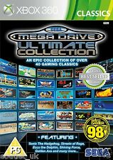 SEGA Mega Drive Ultimate Collection Retro Games for Xbox 360 X360 NEW SEALED
