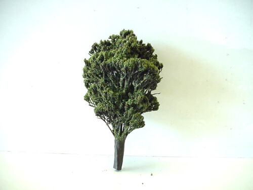 """Vintage HO Scale Model Train Layout Accessory  4 1//2/"""" Tall Tree"""