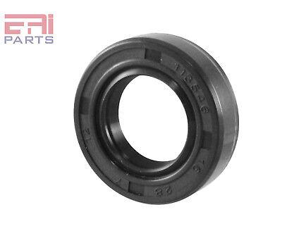 Oil Seal 17X40X7mm TC EAI Double Lip w// Spring Metal Case w// NBR Coating