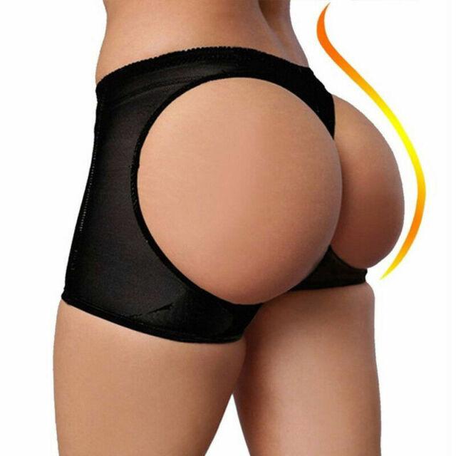 Shapewear Butt Lifters Butt Booster Booty Panty Plus Black S M L XL XXL XXXL