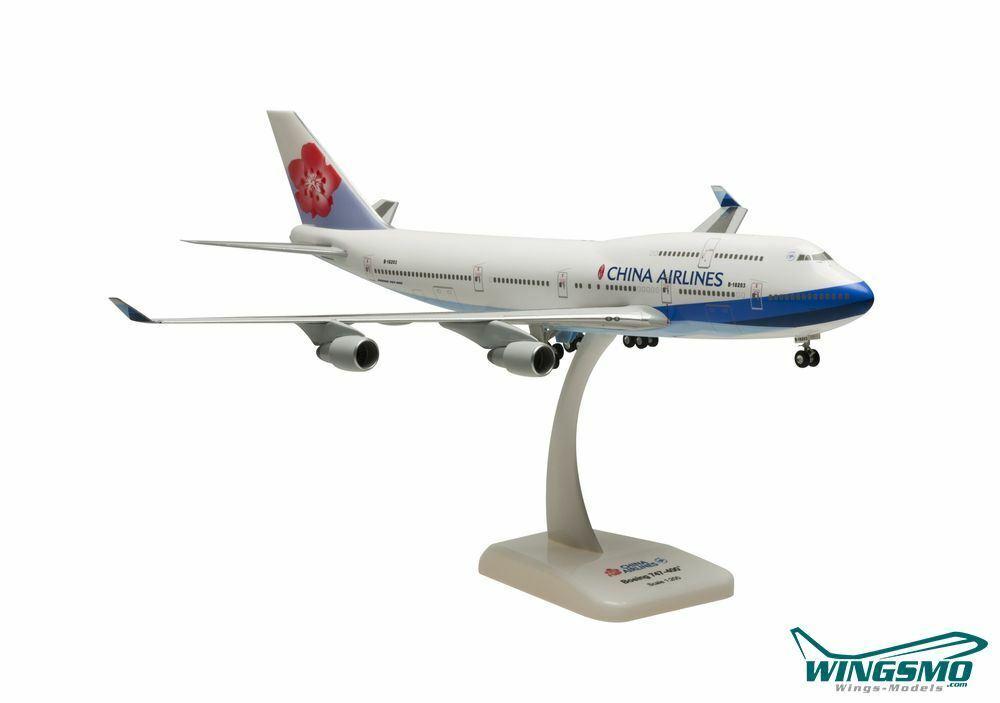HOGAN Wings Boeing 747-400 Cina Airlines scale 1 200 li 1066 GRMU