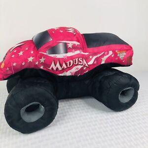 Monster Jam Plush Truck Stuffed Toy Pillow Madusa Pink Feld Motor Sports Ebay