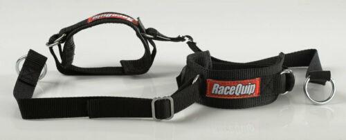 Jr Racing Gear STD 2/' ARM RESTRAINTS BLACK RaceQuip Kids