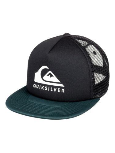 QUIKSILVER homme casquette de baseball foamslay Flat Peak Trucker Mesh Snapback Hat 9 S 3 K