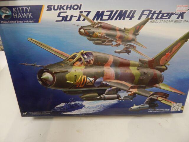 Kitty Hawk 1/48 Scale Plastic Model  SUKHOI  Su17