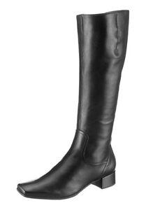 Gabor Stiefel NEU UK 3,5-8,5 Leder Schwarz Damen Schuhe Gr.36-42,5 ... d14be95f7d