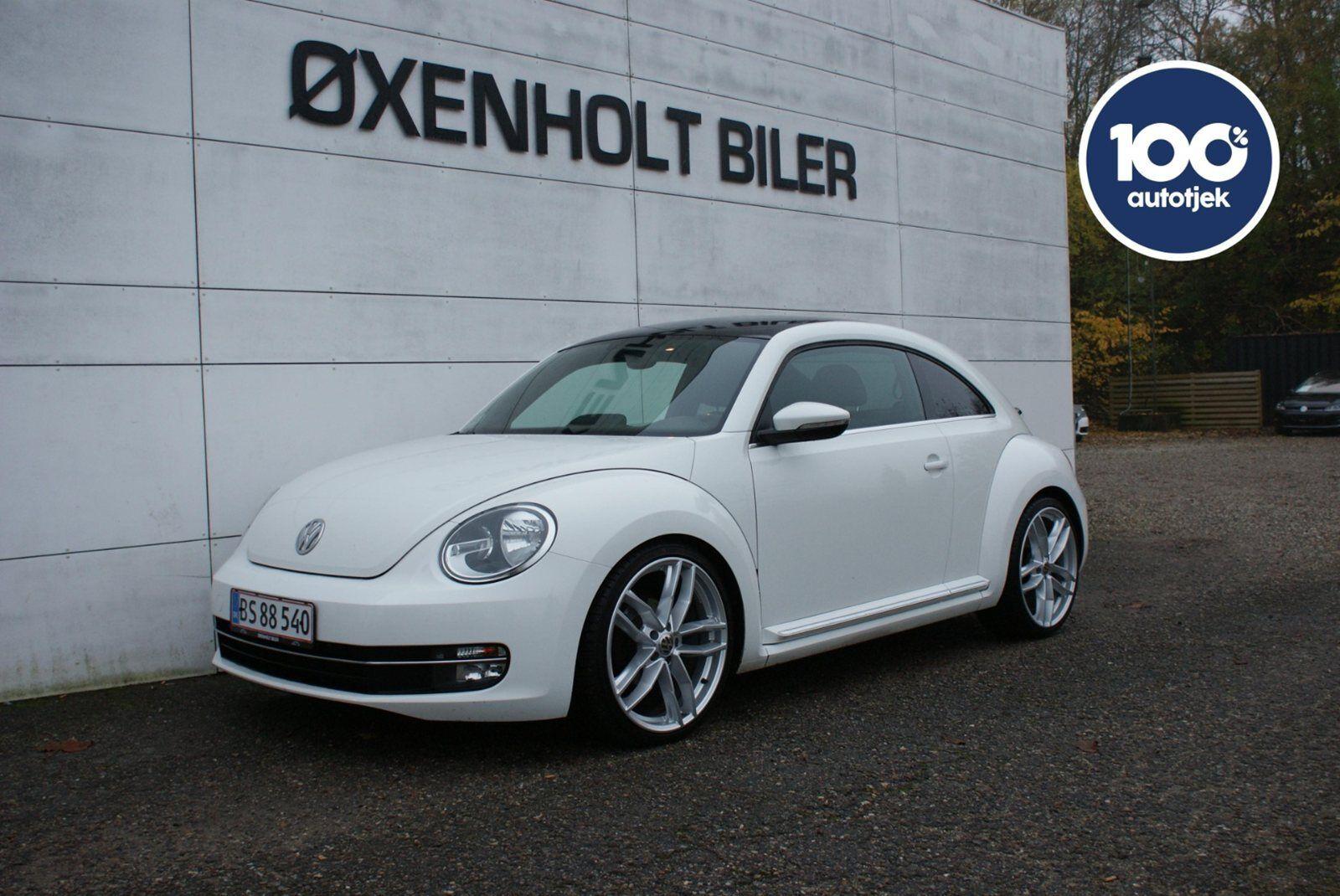 VW The Beetle 1,6 TDi 105 Design 2d - 144.800 kr.