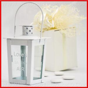 Bomboniere Matrimonio Lanterna.Dettagli Su Bomboniere Comunione Matrimonio Lanterna Led Love S In The Air Shabby Idee Casa
