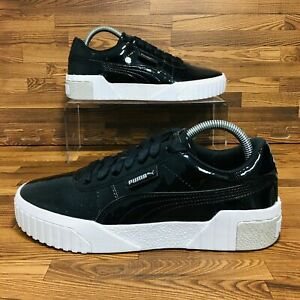 Details about *NEW* Puma Cali Patent Jr (Youth Size 7) X (Women Size 8.5)  Sneaker Black Shoes
