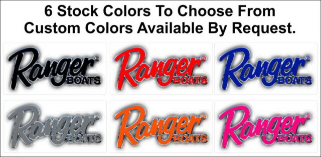 Boat Decals License Plates Collection On EBay - Ranger bass boat decals