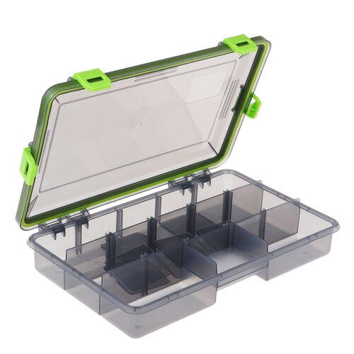 Tragbar Angelkasten Angelbox für Blinker Wasserdicht Bait
