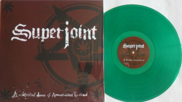 LP SUPERJOINT RITUAL A Lethal Dose Of American Hatred - GREEN VINYL- BOBV471LP
