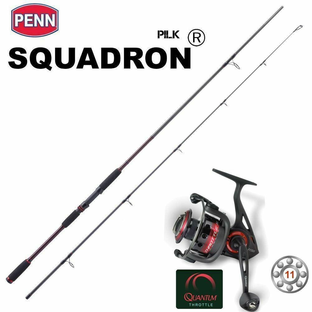 Cochebon pilk set quantum Throjotle th50 + Penn Squadron pilk 2,70 m 80-140g