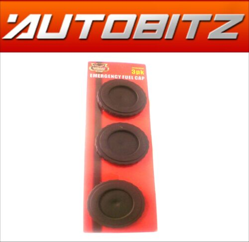 Universal Emergency Fuel Cap Replacement Fuel Cap x3 Read Description NEW