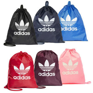 Image is loading Adidas-Originals-Trefoil-Sports-Gymsack-Training-Gym-Bag- 68d37e2abbd7a