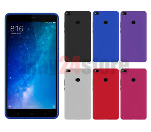 Funda-gel-lisa-Xiaomi-MI-MAX-2-protector-cristal-opcional