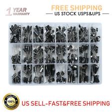 100500pcs 24 Value Electrolytic Capacitor Assortment Box Kit Range 01uf1000uf