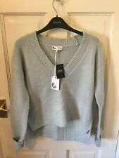 Next Winter Knits Baby Blue Loose Fit Jumper Size 8