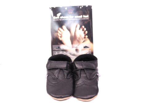 16-29 Soft Leder Melton Kinder Baby Lederpuschen Hausschuhe Krabbelschuhe Gr