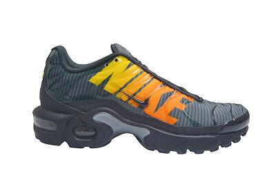 pretty nice e7871 65878 Juniors Nike Tuned Air Max Plus TN SE (GS) - AV4151001 - Black Tour Yellow  | eBay