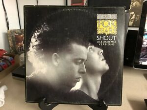 Tears-For-Fears-Shout-1985-Mercury-Vinyl-12-Single-Record-VG