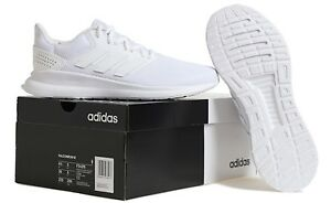 premium selection cd898 d1528 Image is loading Adidas-Unisex-Run-Falcon-Raw-Shoes-Running-White-