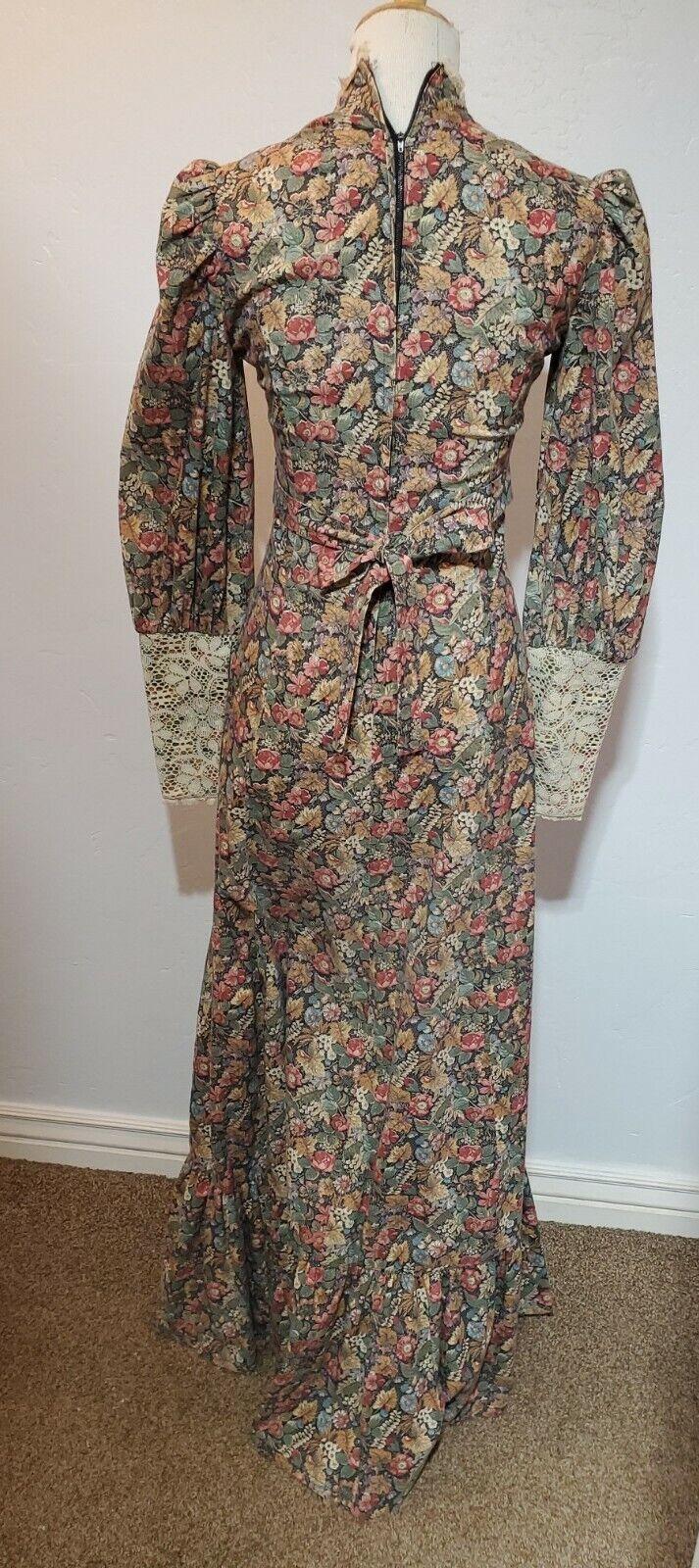 vintage gunne sax prairie dress Small womens tall… - image 2