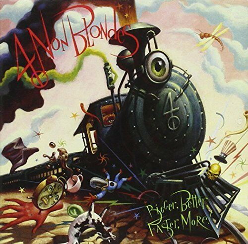 1 of 1 - 4 Non Blondes - Bigger Better Faster More - 4 Non Blondes CD 9BVG The Cheap Fast