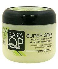 Elasta QP Super Gro Hair Strengthener - Scalp Treatment, 4 oz (Pack of 3)