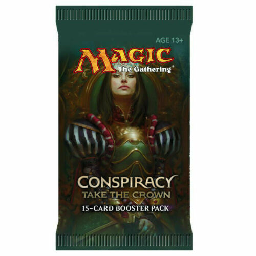 1 Conspiracy Take the Crown Sealed Booster Pack Mtg Magic from box English