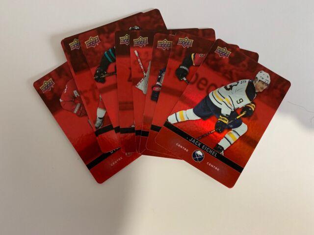 2019/20 RED PARALLEL DIE CUT - UPPER DECK - TIM HORTONS - Hockey Card In Stock