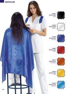 Mantellina-Clienti-Parrucchiera-Parrucchiere-Mantella-Nera-Blu-Gialla-Rossa-POST