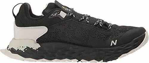 New Balance Men's Hierro V5 Fresh Foam Trail Running, Black/Moonbeam, Size 8.0 t