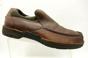 Rockport-Brown-Leather-Casual-Slip-On-Walking-Loafers-Shoes-Men-039-s-12-M